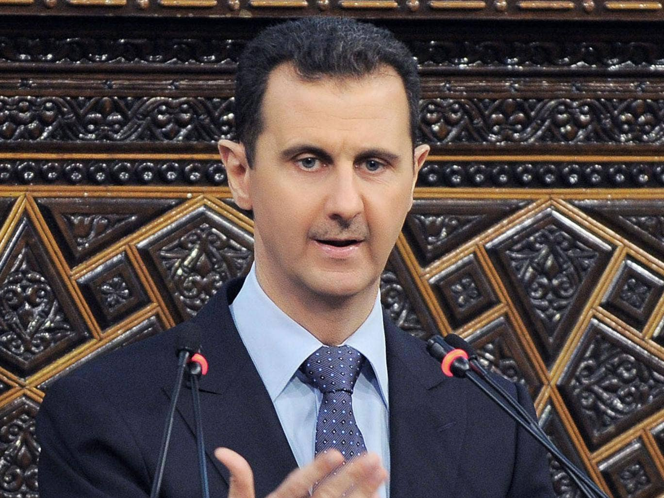 Syria must become a 'resistance nation like Hezbollah' says President Bashar al-Assad