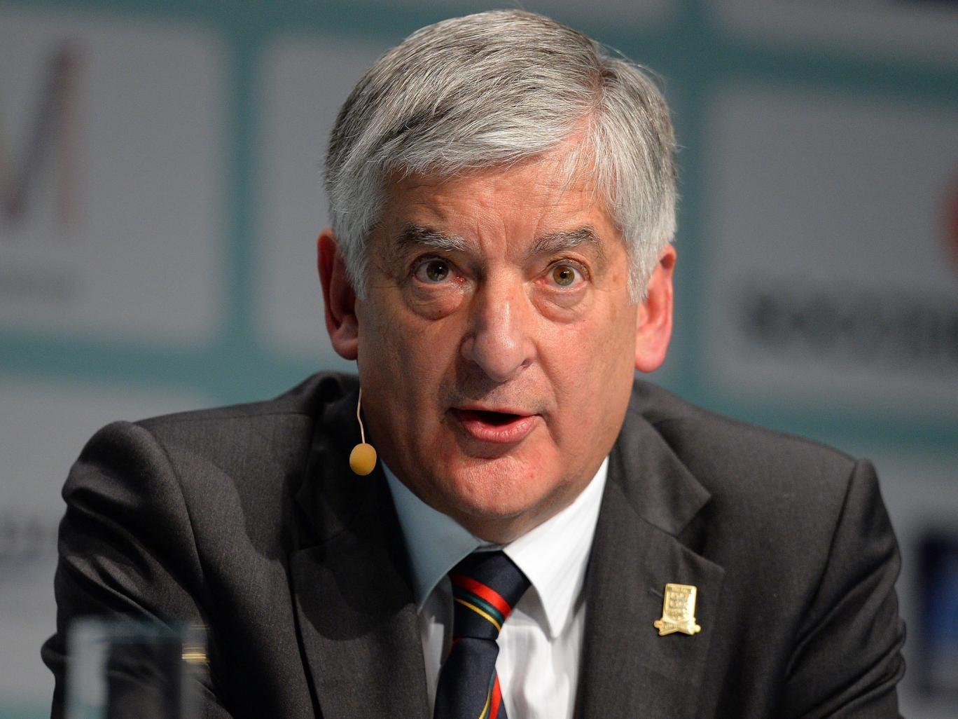 David Bernstein: The outgoing FA chairman is a lifelong Manchester City fan