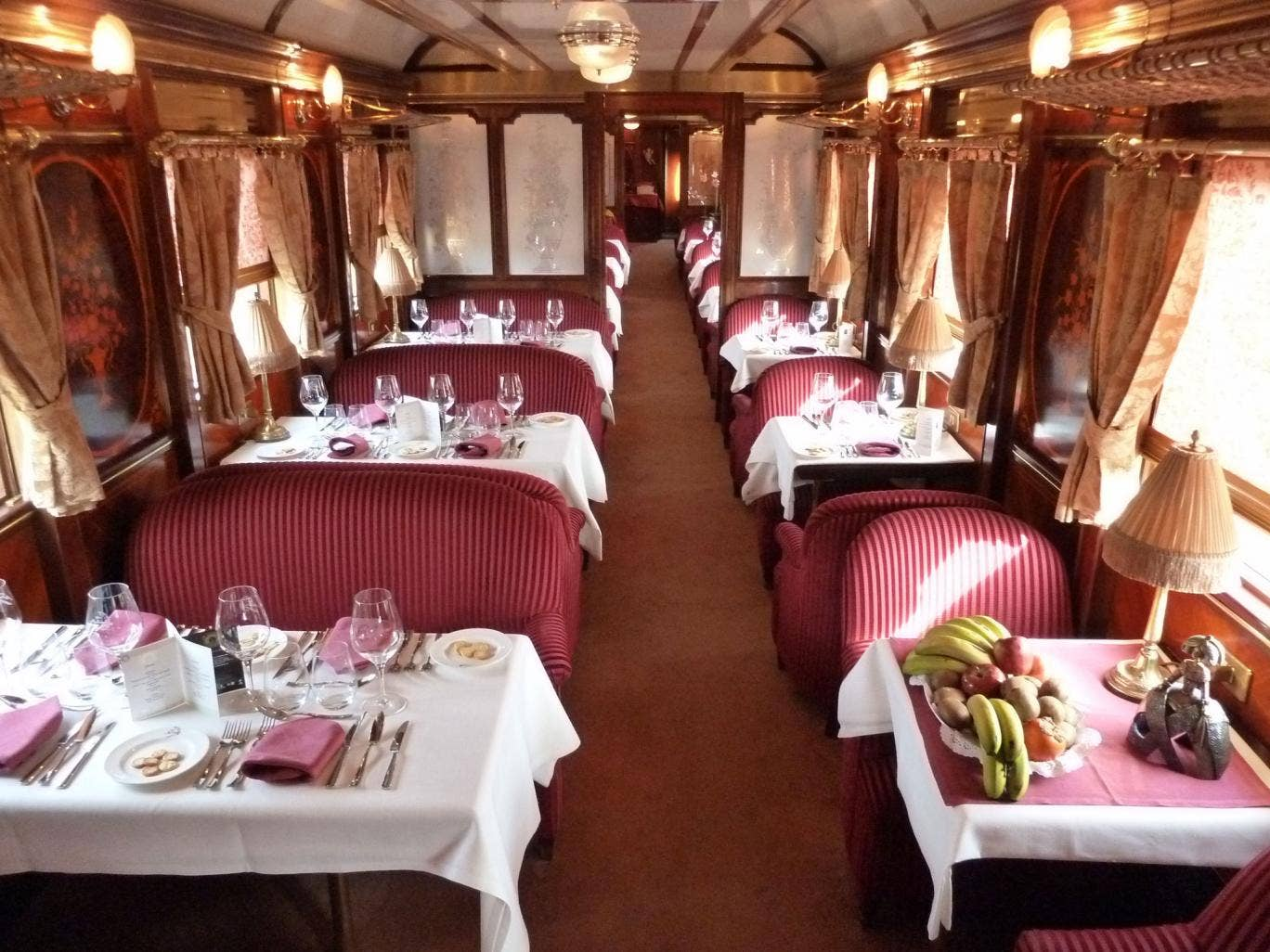 The Al Andalus luxury train in Spain