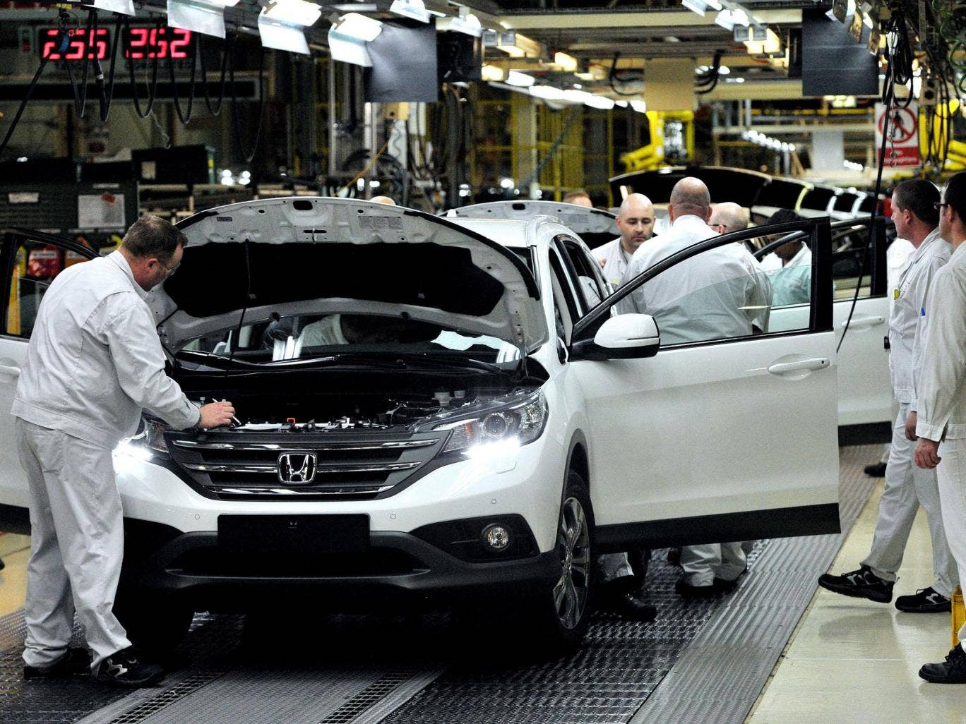 Honda in Swindon is shedding jobs