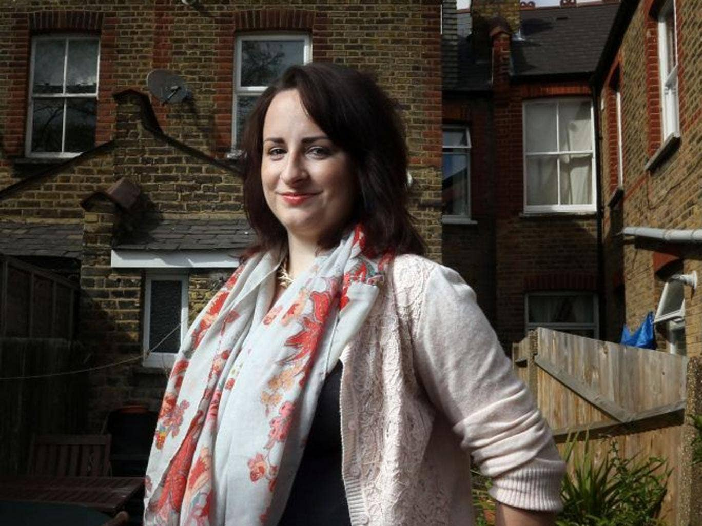 Catherine Gagon, 26, is renting but wants to get on to the property ladder