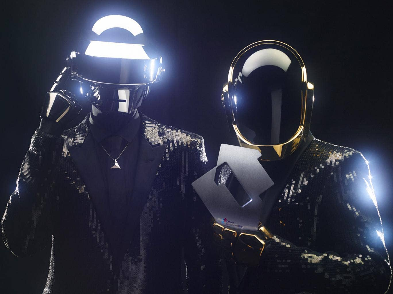 Daft Punk's track 'Get Lucky' is at No 1