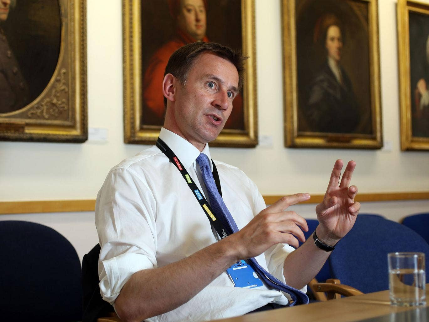 Jeremy Hunt wants to rethink how the NHS offers care