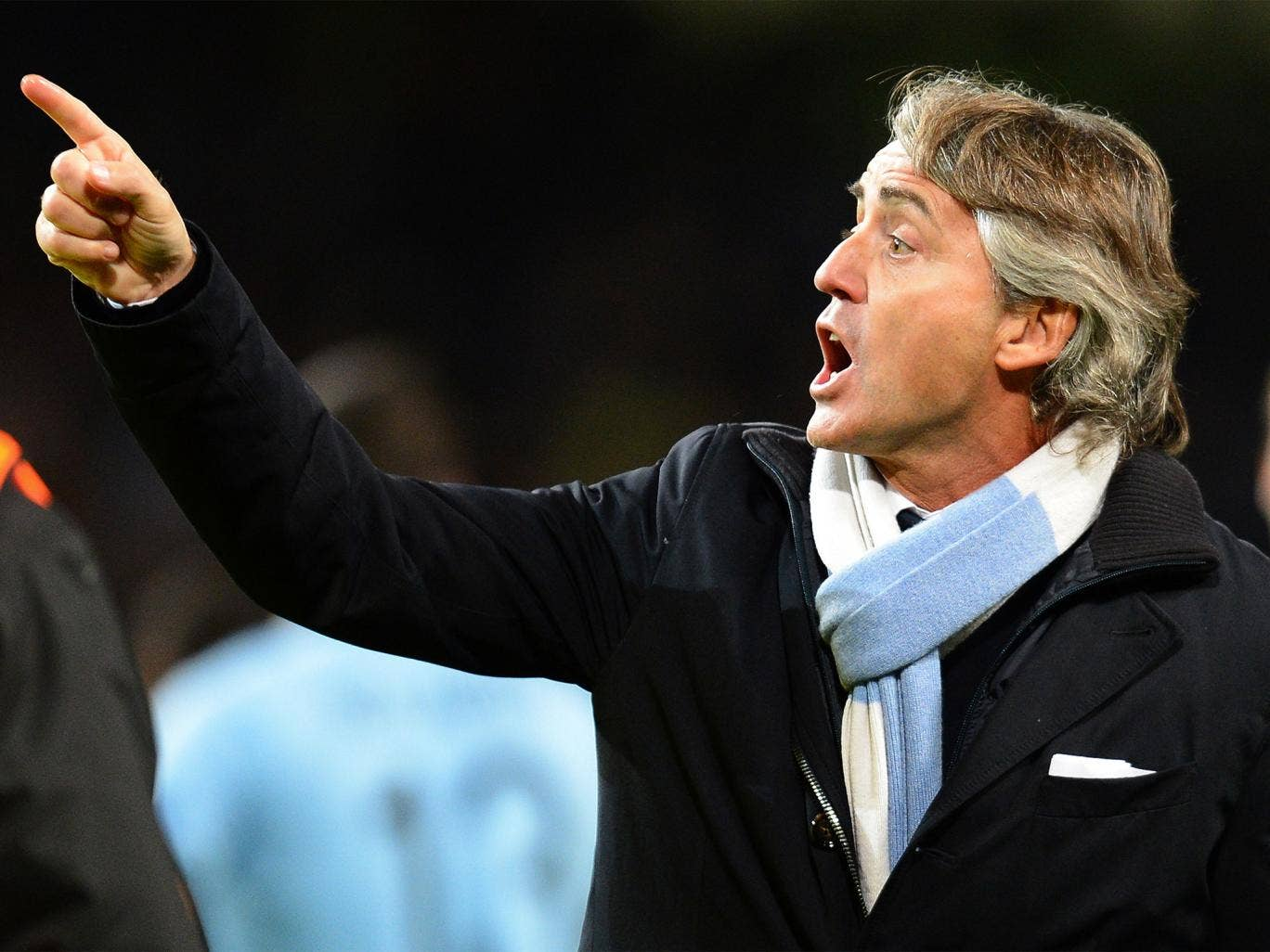 Roberto Mancini often feels he sees things on the pitch which his players miss