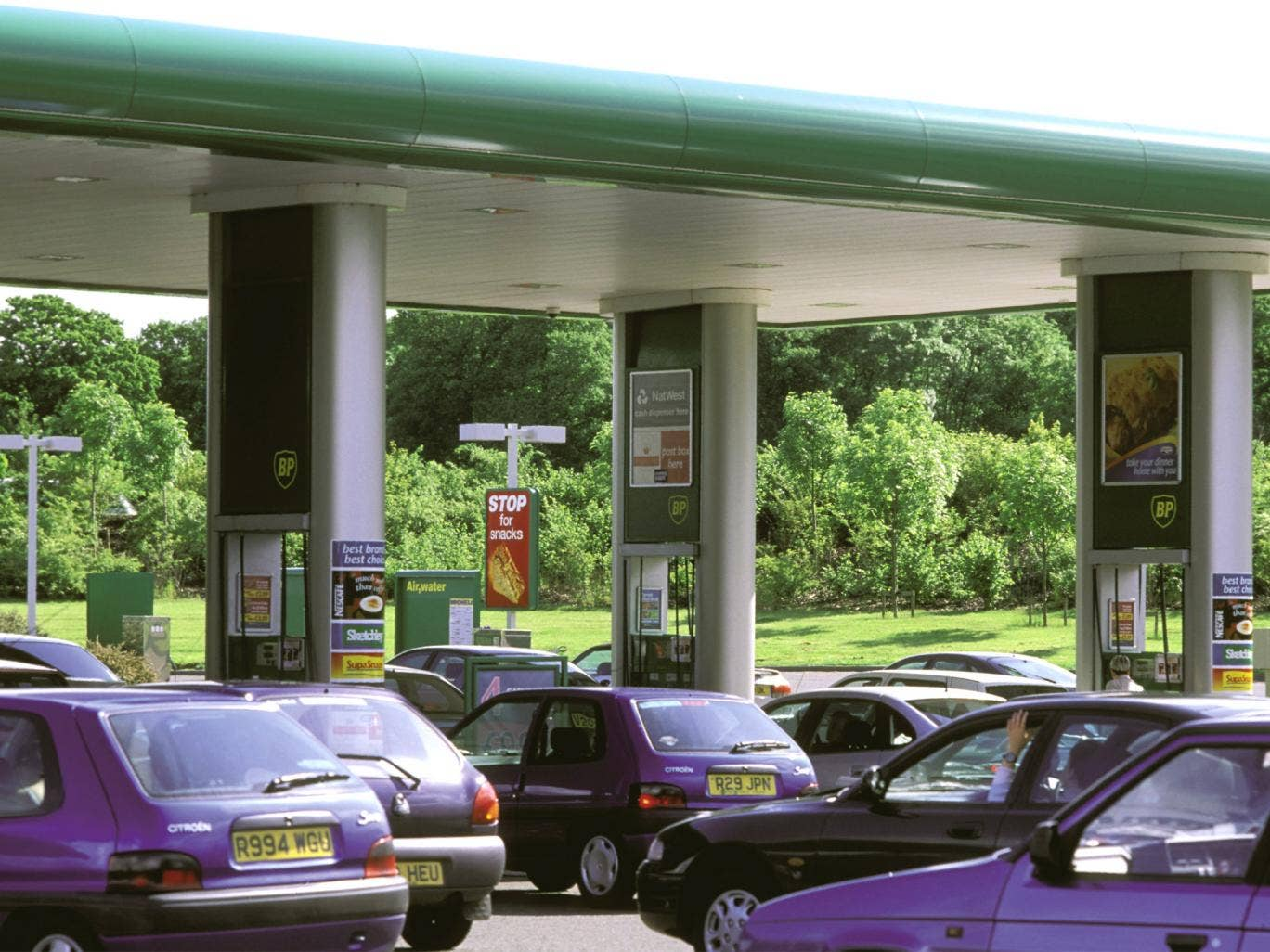 Motorway signs displaying fuel prices for upcoming services could soon be commonplace, allowing drivers to compare them and make an informed choice