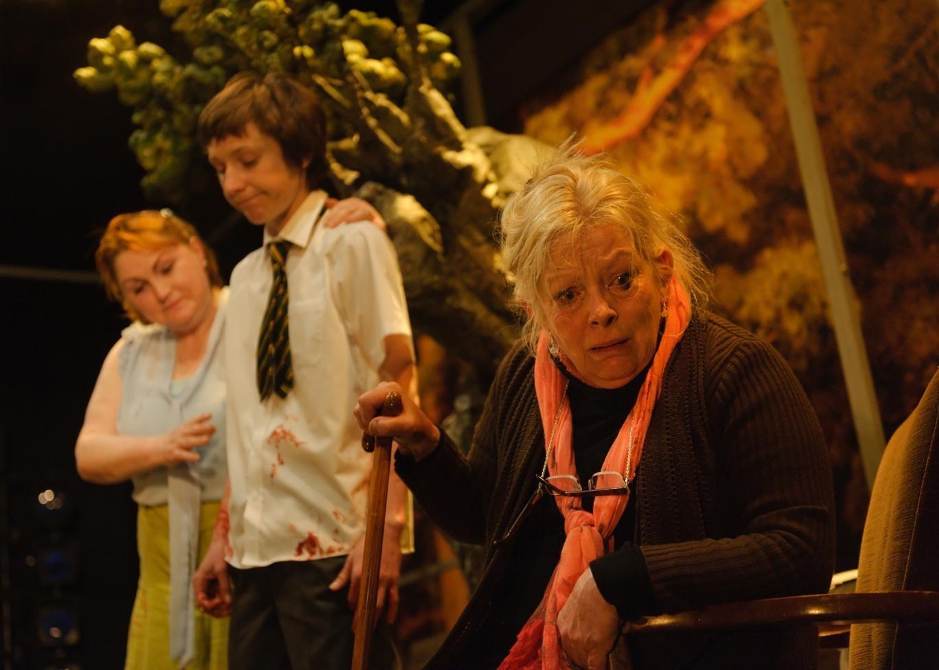 Pastoral starring Anna Calder-Marshall as crazy old Moll
