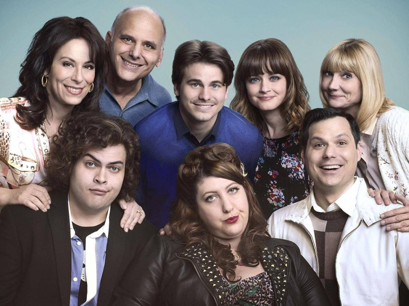 The cast of the latest UK inspired American sitcom, 'Us & Them'