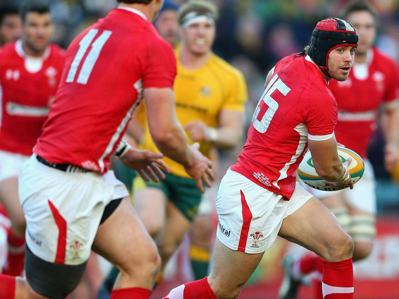 Leigh Halfpenny knows what it feels like to lose to Australia