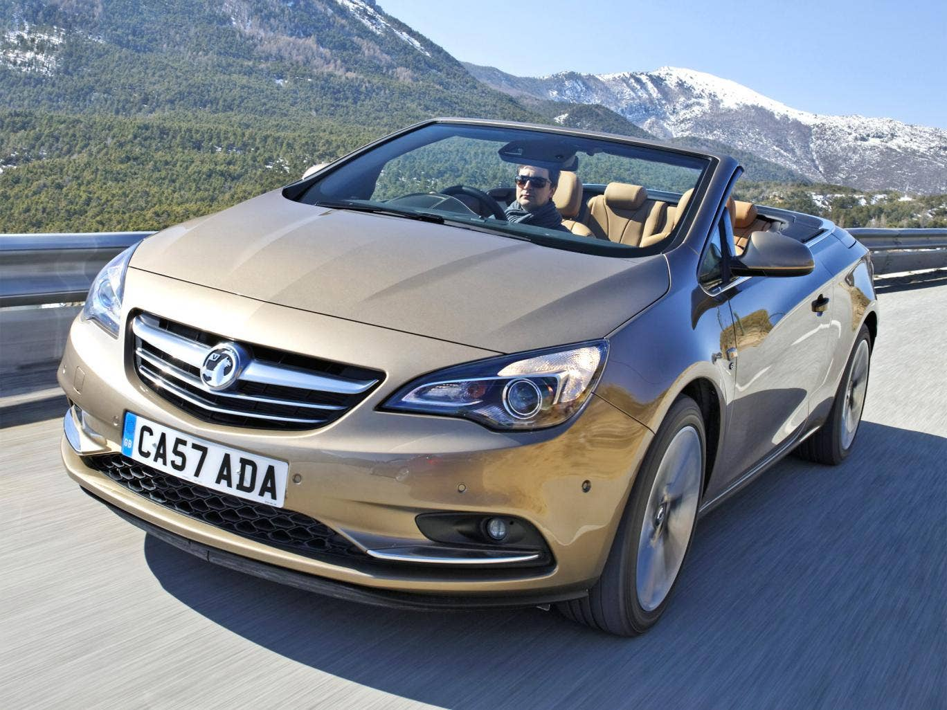 Wafts along nicely: the new Vauxhall Cascada
