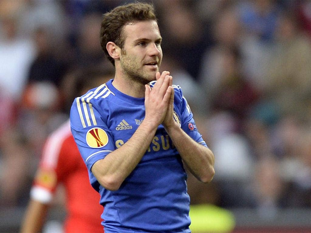 JUAN MATA: Strangely subdued. The Spaniard failed to find the spark that has been such a key feature of his game. 6/10