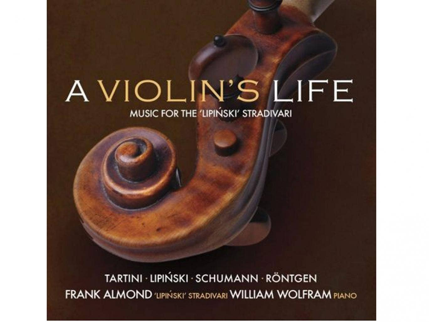 Frank Almond, A Violin's Life (Avie)