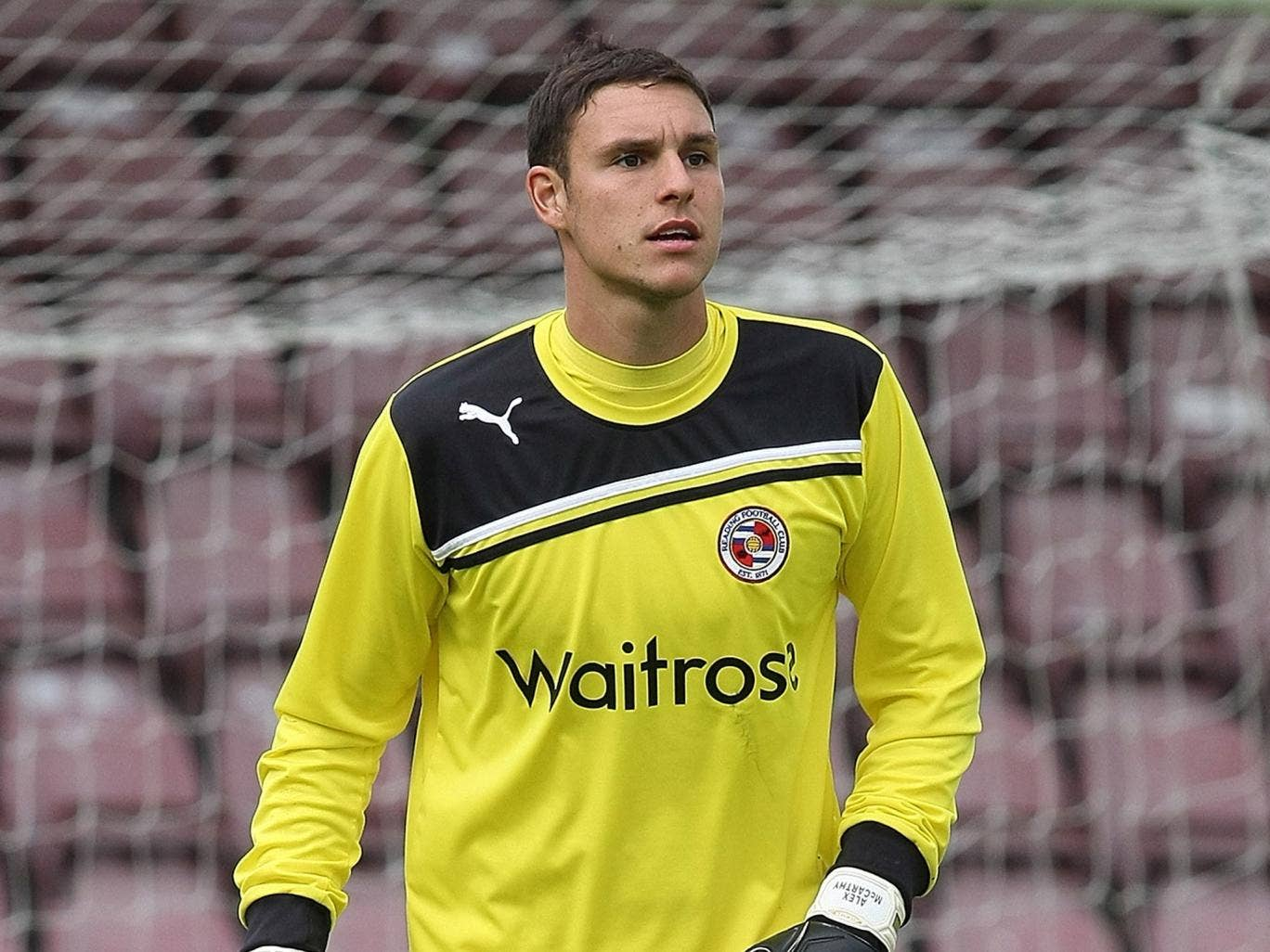 Alex  McCarthy the Reading goalkeeper is the surprise inclusion in the England squad