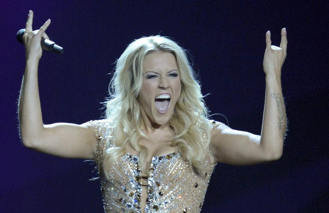"<b>Germany: Cascada performing 'Glorious'</b> <p>Cascada has had a decade of success global hits including ""The Rhythm of The Night"" and ""Summer Of Love"". Singer Natalie Horler is the daughter of acclaimed jazz musician David Horler. German songwriters an"