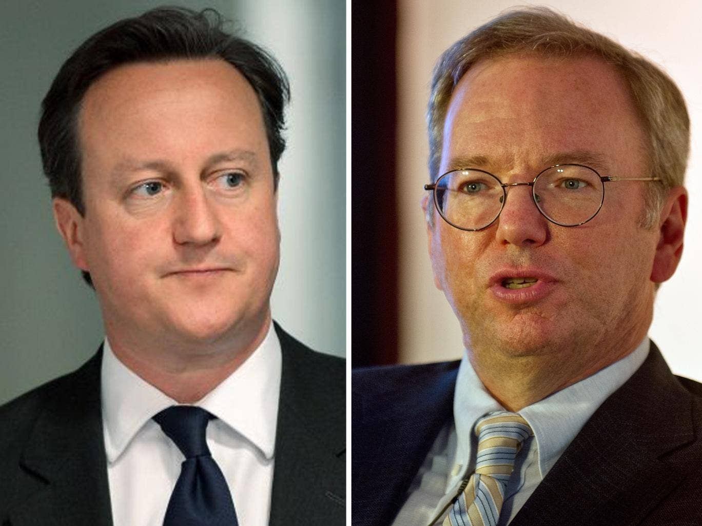 David Cameron will meet Google's executive chairman at the Prime Minister's Business Advisory Group on Monday
