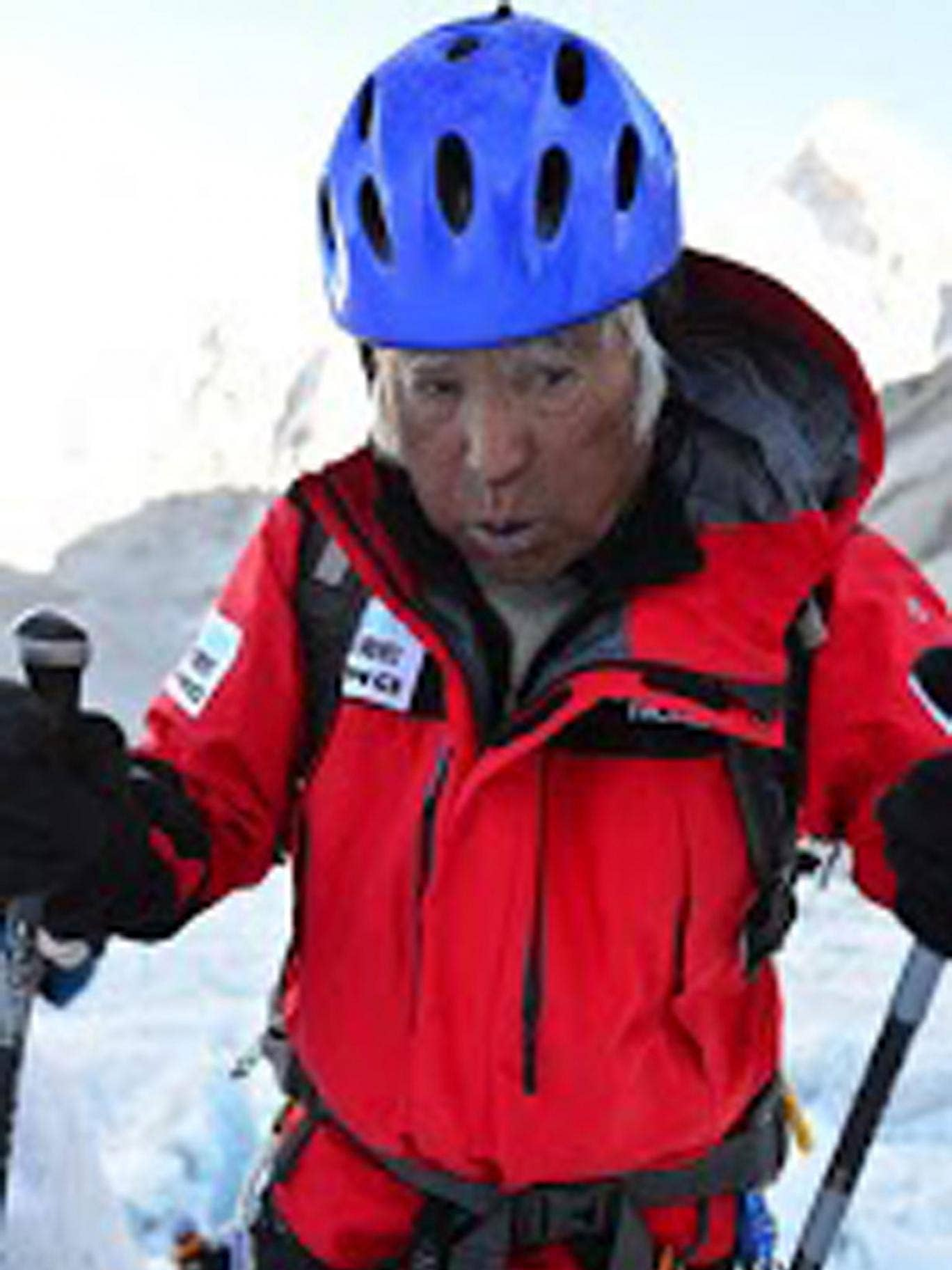 Yuichiro Miura: The Japanese climber made the record book with his first ascent in 2003