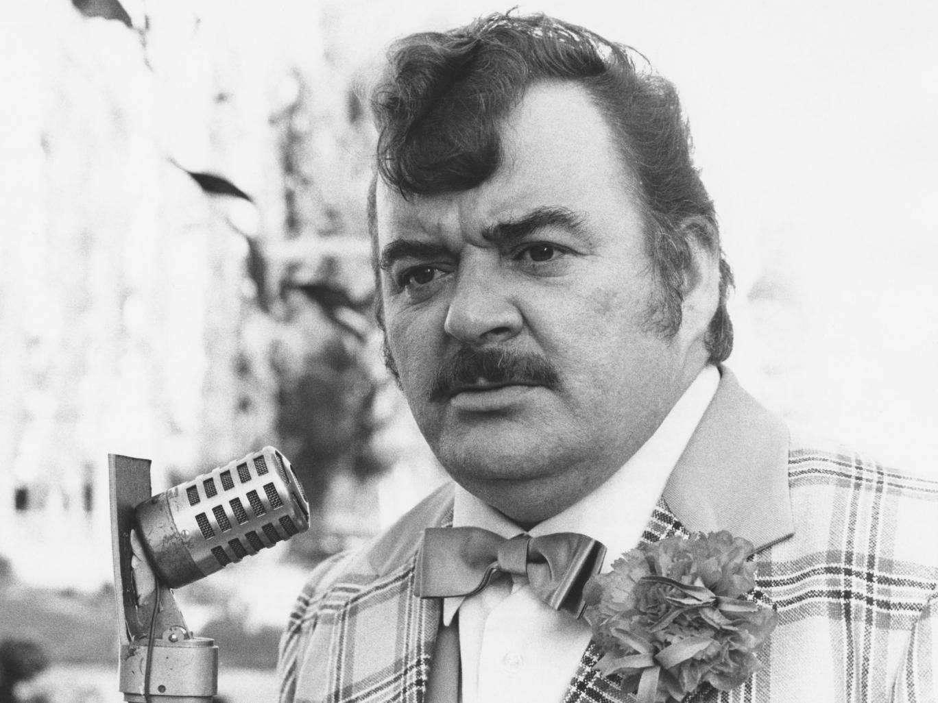 Shane in 1979 as Ted Bovis in 'Hi-de-Hi'; he relished the role of the comedian and shyster