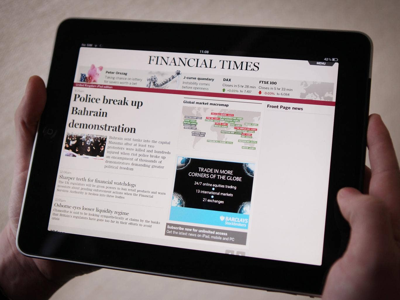 The Financial Times' tech blog and Twitter account were hacked by the Syrian Electronic Army