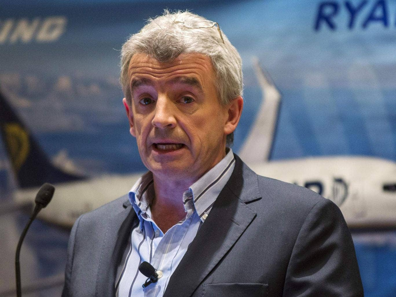 Michael O'Leary, chief executive of Ryanair, has courted publicity for the company in the past
