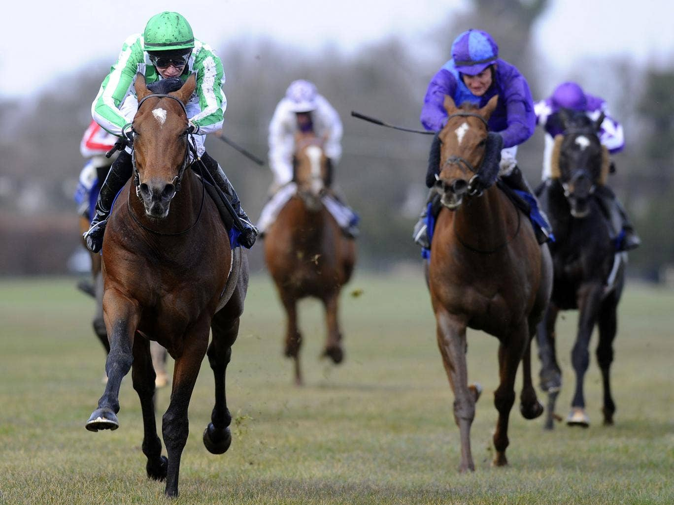 Declaration of War makes his first Group One start today