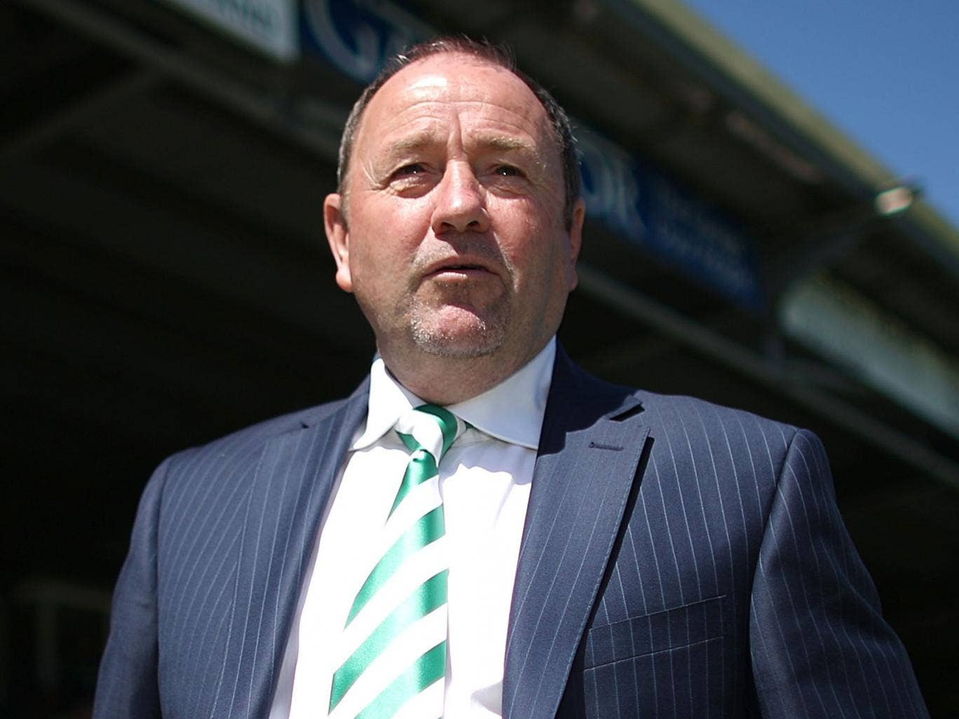 Gary Johnson: The manager took Yeovil into the league now aims to lift them higher