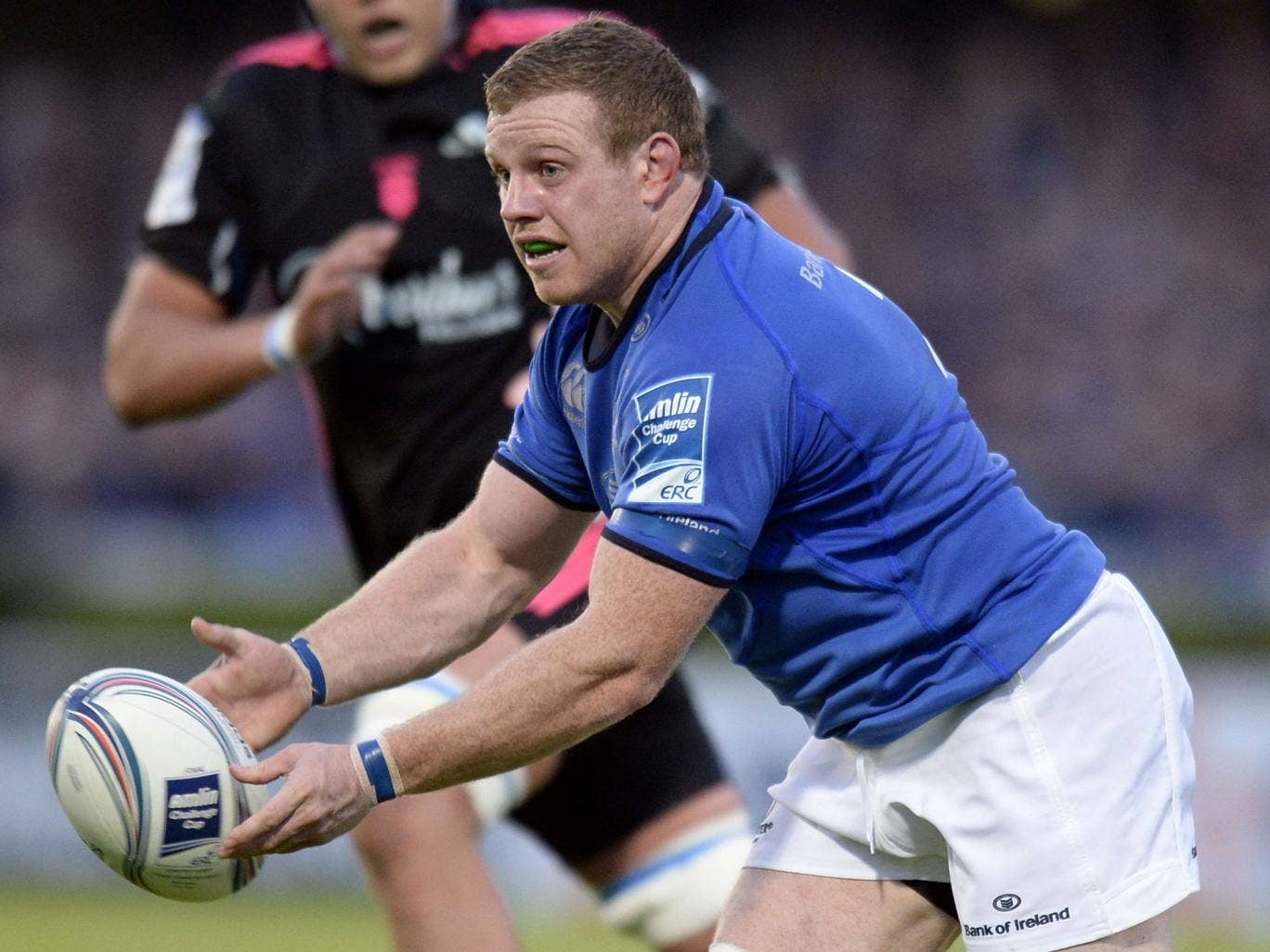 Sean Cronin ran in for Leinster's second try in a one-sided first half