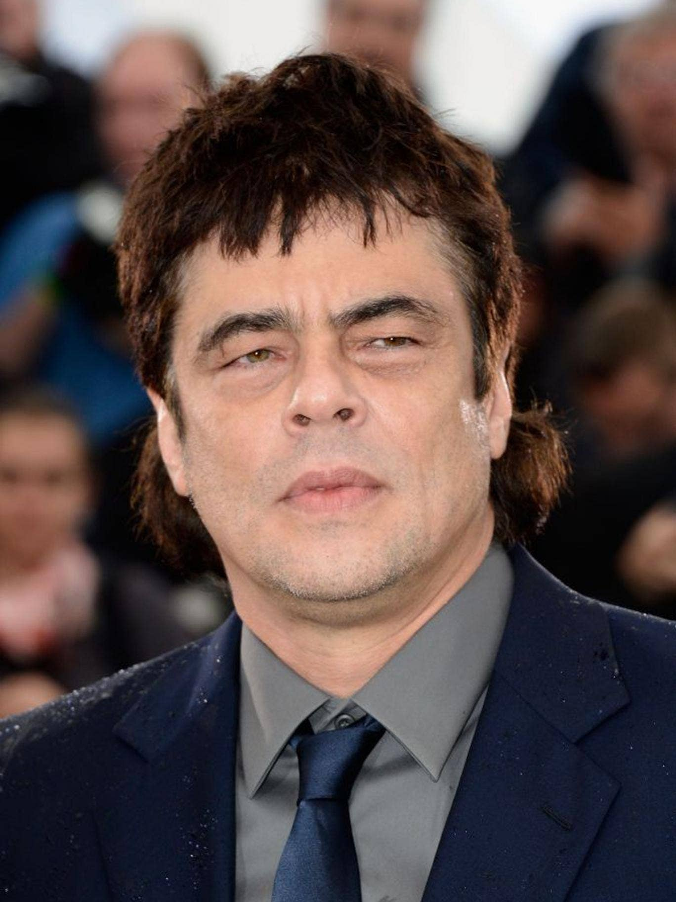 Benicio Del Toro at the 'Jimmy P: Psychotherapy Of A Plains Indian' photocall in Cannes