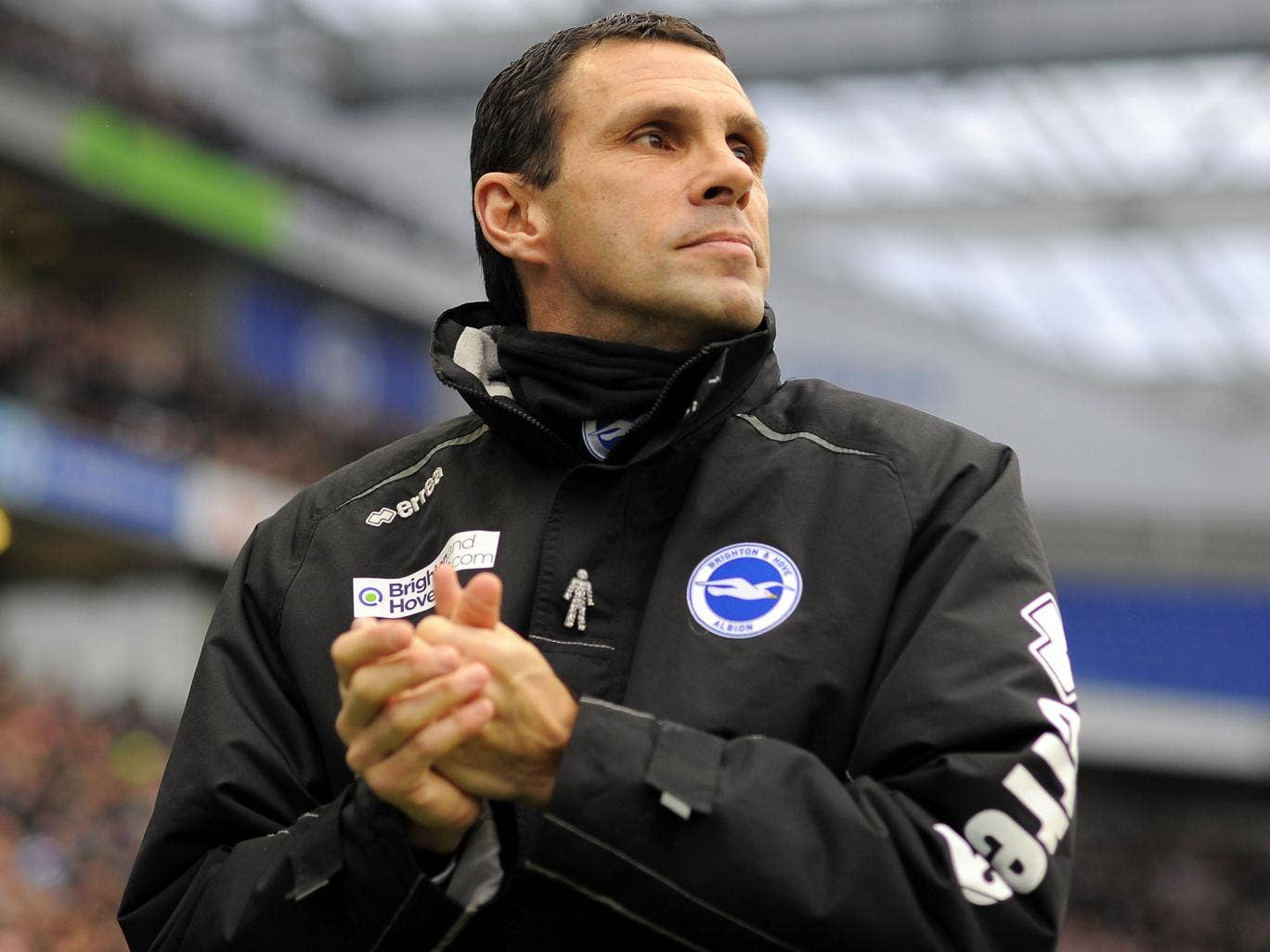 Gus Poyet's future is unclear after he was suspended by Brighton