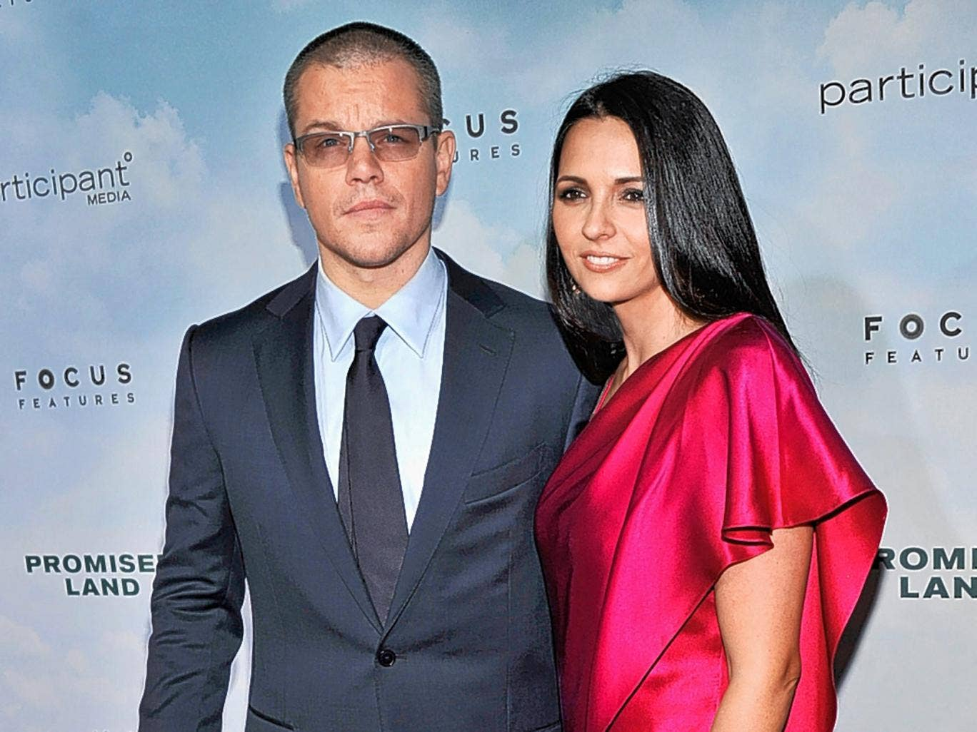 Matt Damon and Luciana Barroso: These two rented an entire caribbean resort for their second wedding party