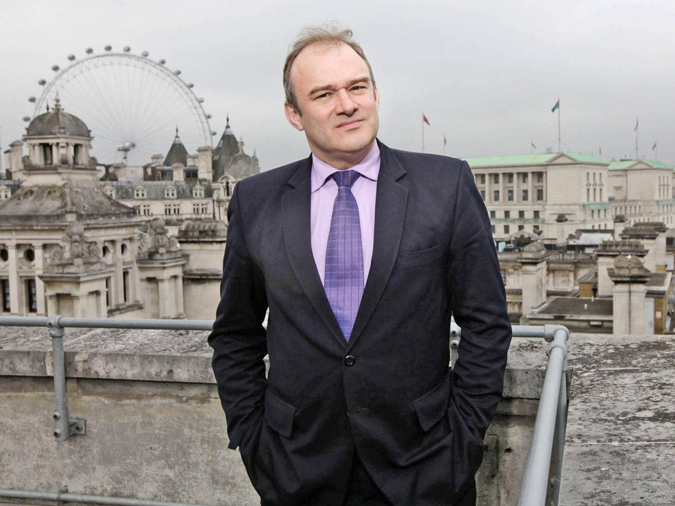 Ed Davey wants Britain to play a key role in tackling climate change
