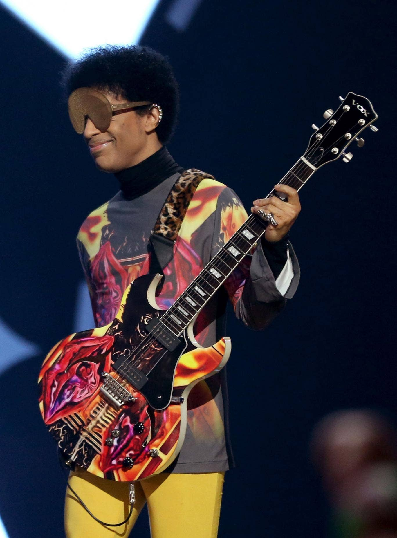 Prince performing in September 2012