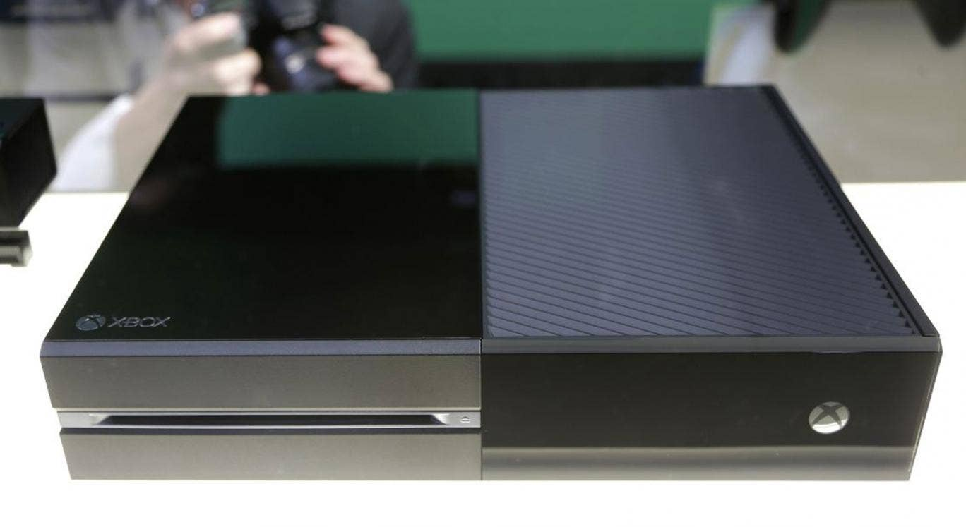 The curtain was pulled, and the Xbox One was revealed