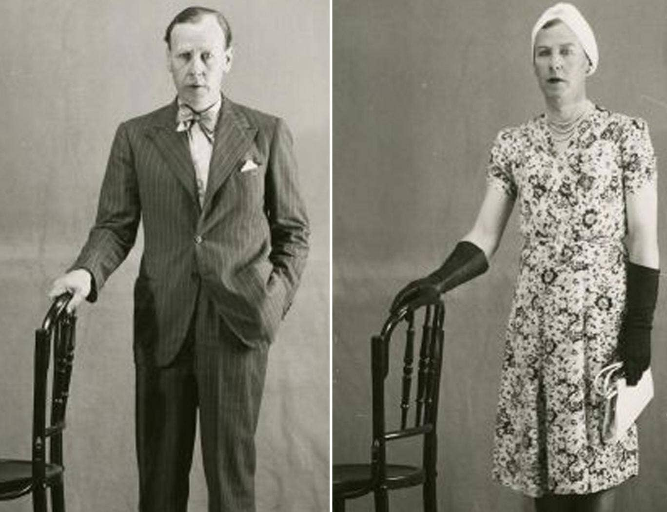 Lieutenant Colonel Dudley Clarke set alarm bells ringing in Whitehall in 1941 when he was arrested in Madrid dressed as a woman