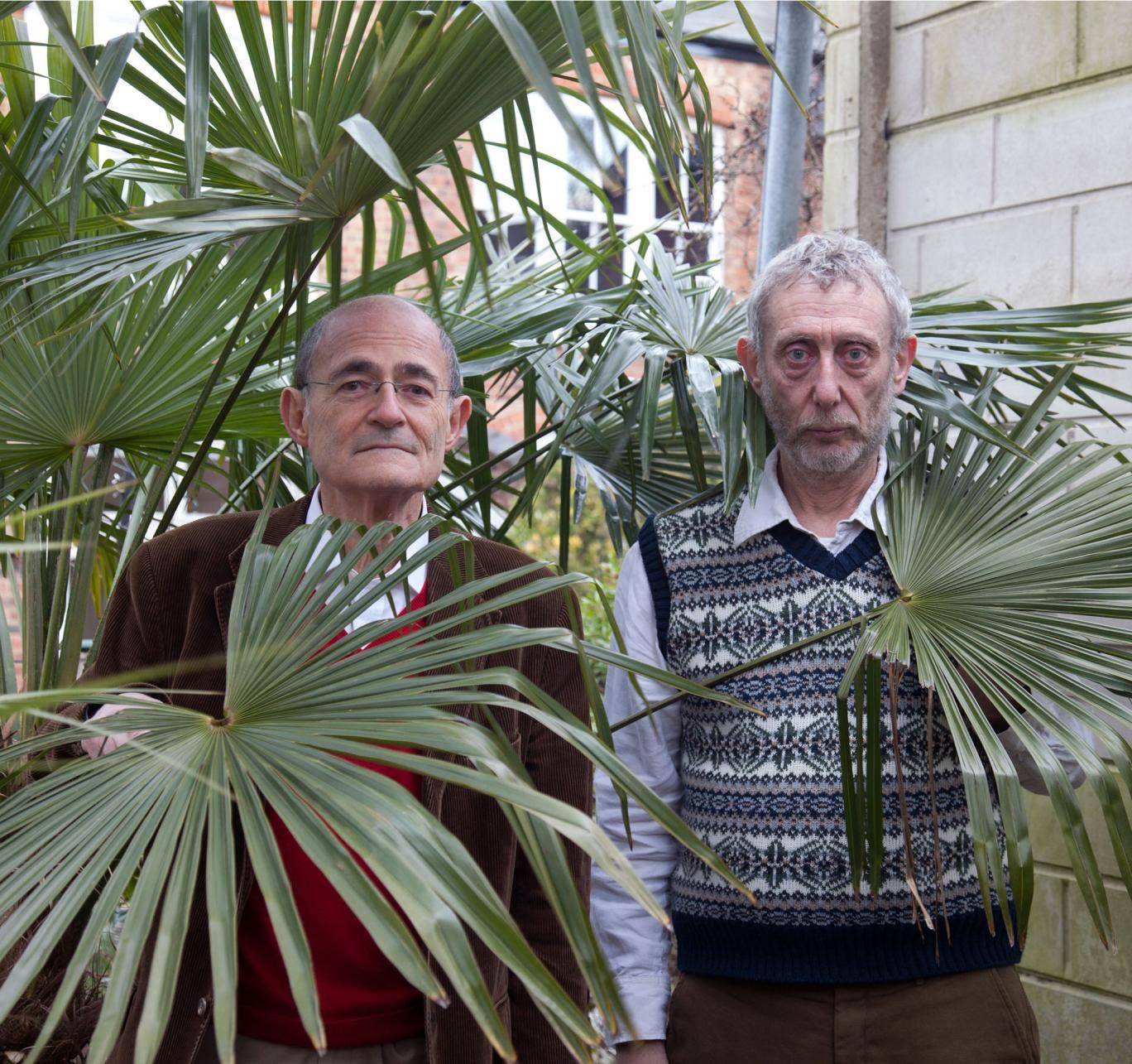 Silma (left) says of Rosen: 'He was the most exhilarating companion, comic and clever'