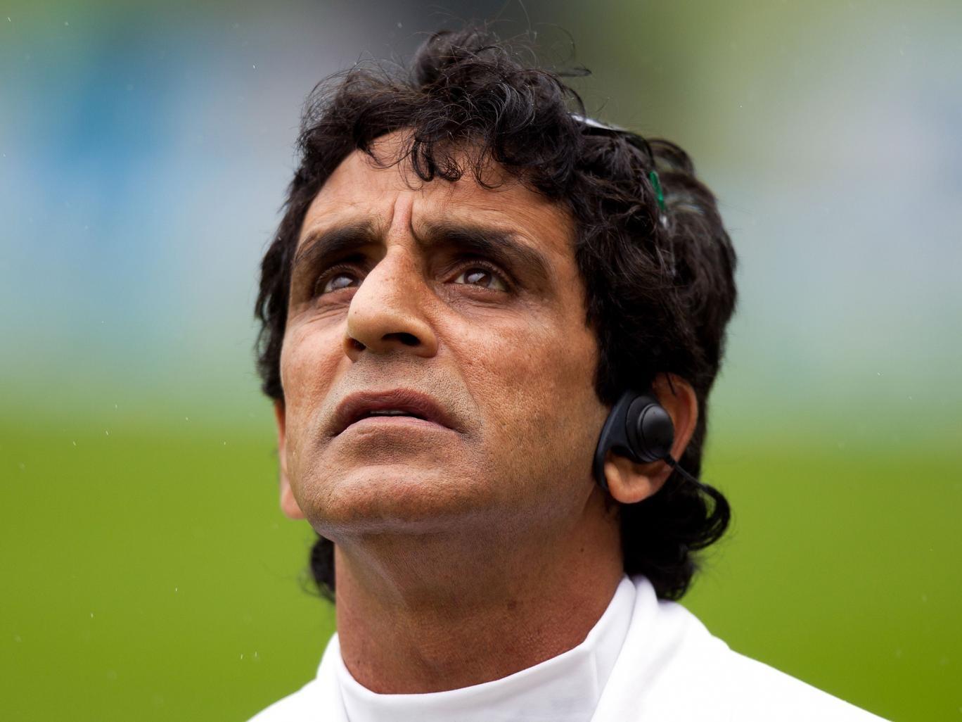 Umpire Asad Rauf from Pakistan