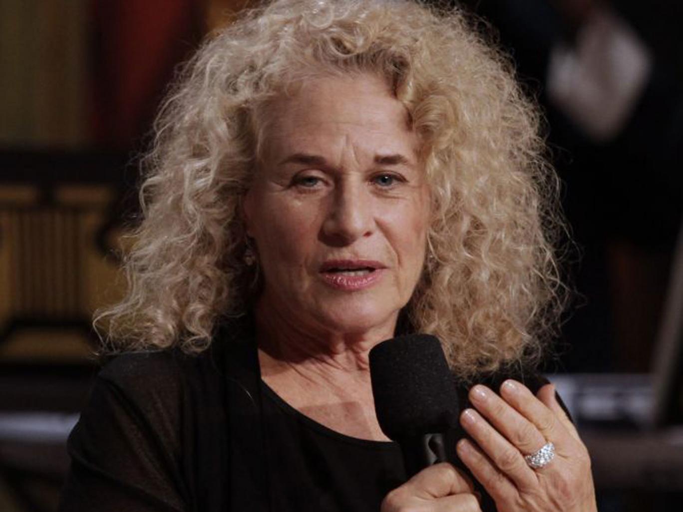 Carole King, singer-songwriter