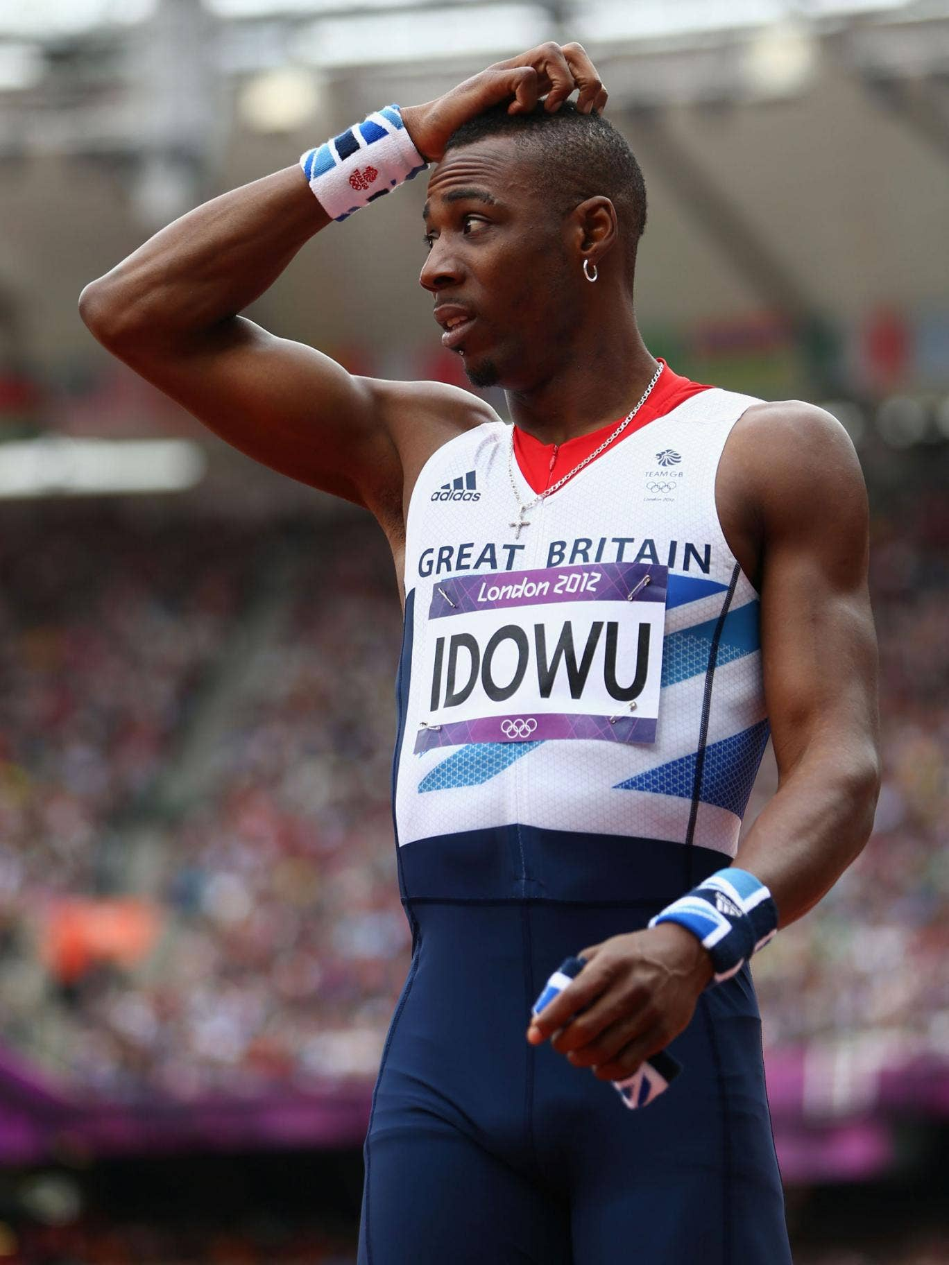 Phillips Idowu feels he let a lot of people down at the Olympics