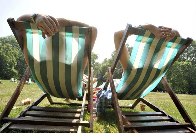 East Anglia got the summeriest weather, with highs approaching 18C
