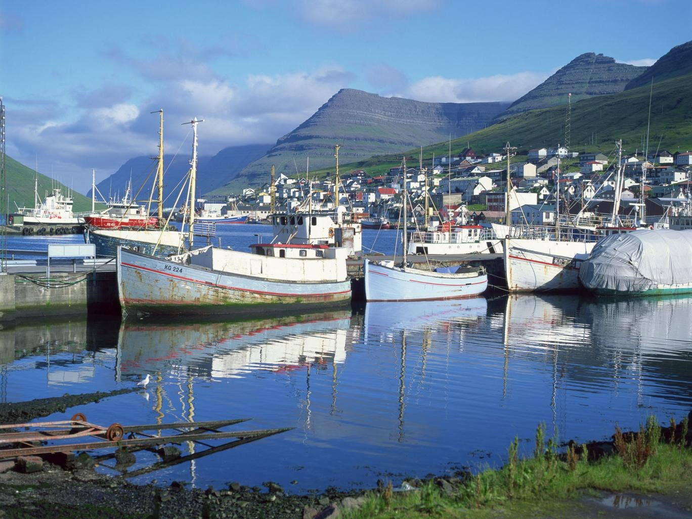 Fishing is the main industry of the Faroe Islands