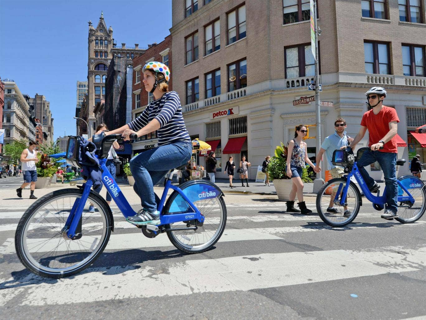 New Yorkers have embraced the Citi Bikes