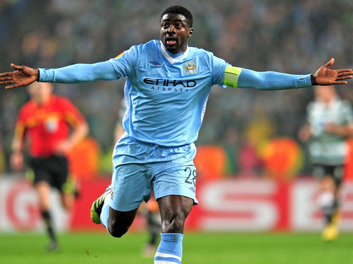 Kolo Touré has been at City since 2009