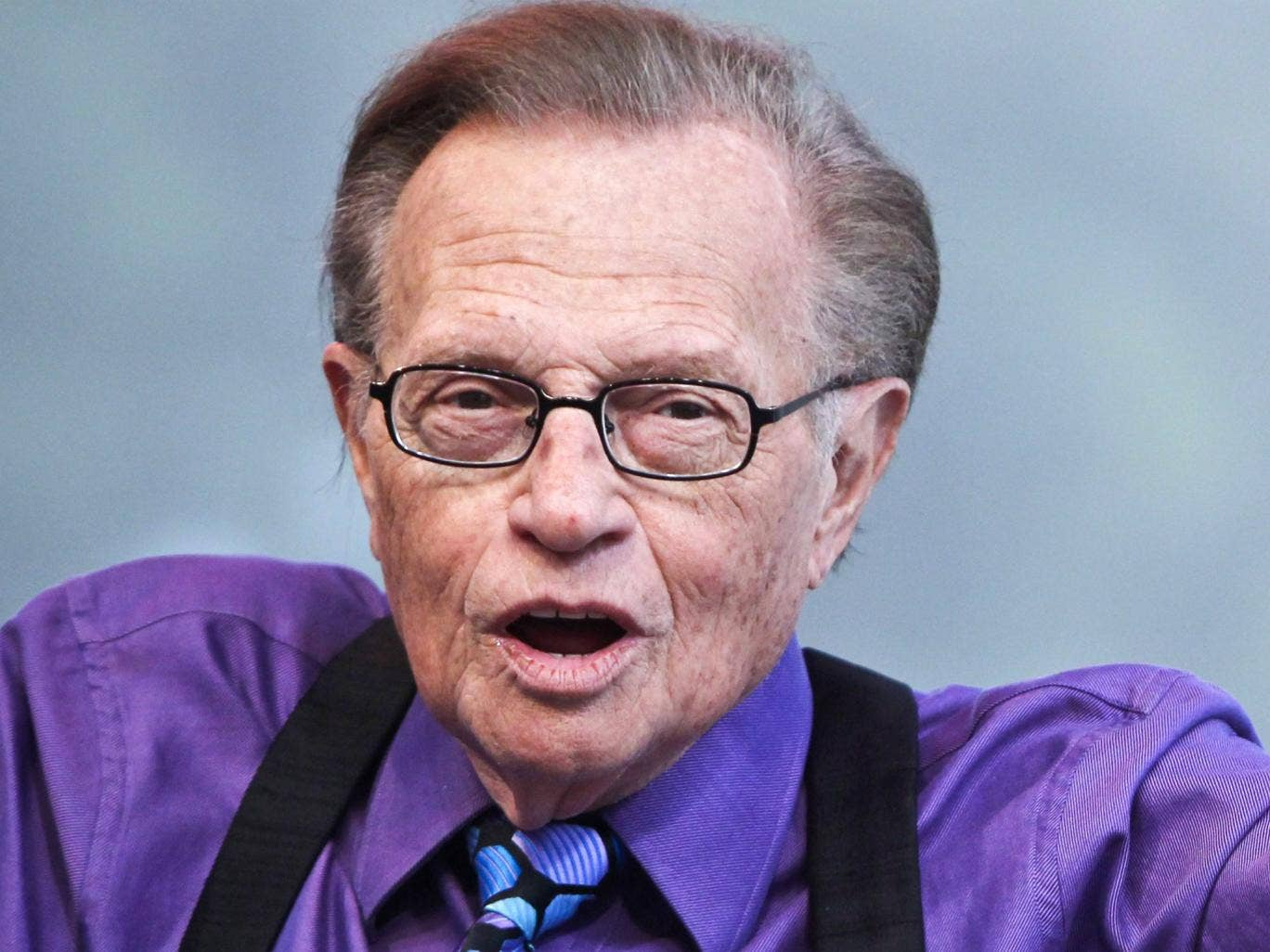 Larry King handed over his CNN timeslot to Piers Morgan in 2010