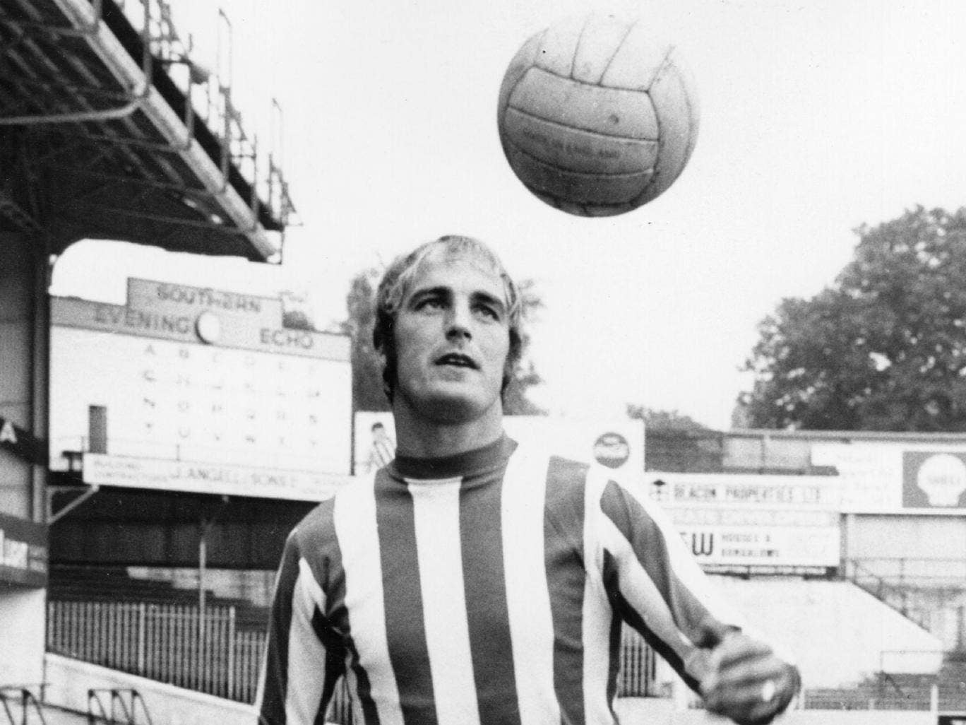 Ron Davies: A striker who 'had the beating of virtually any opponent'