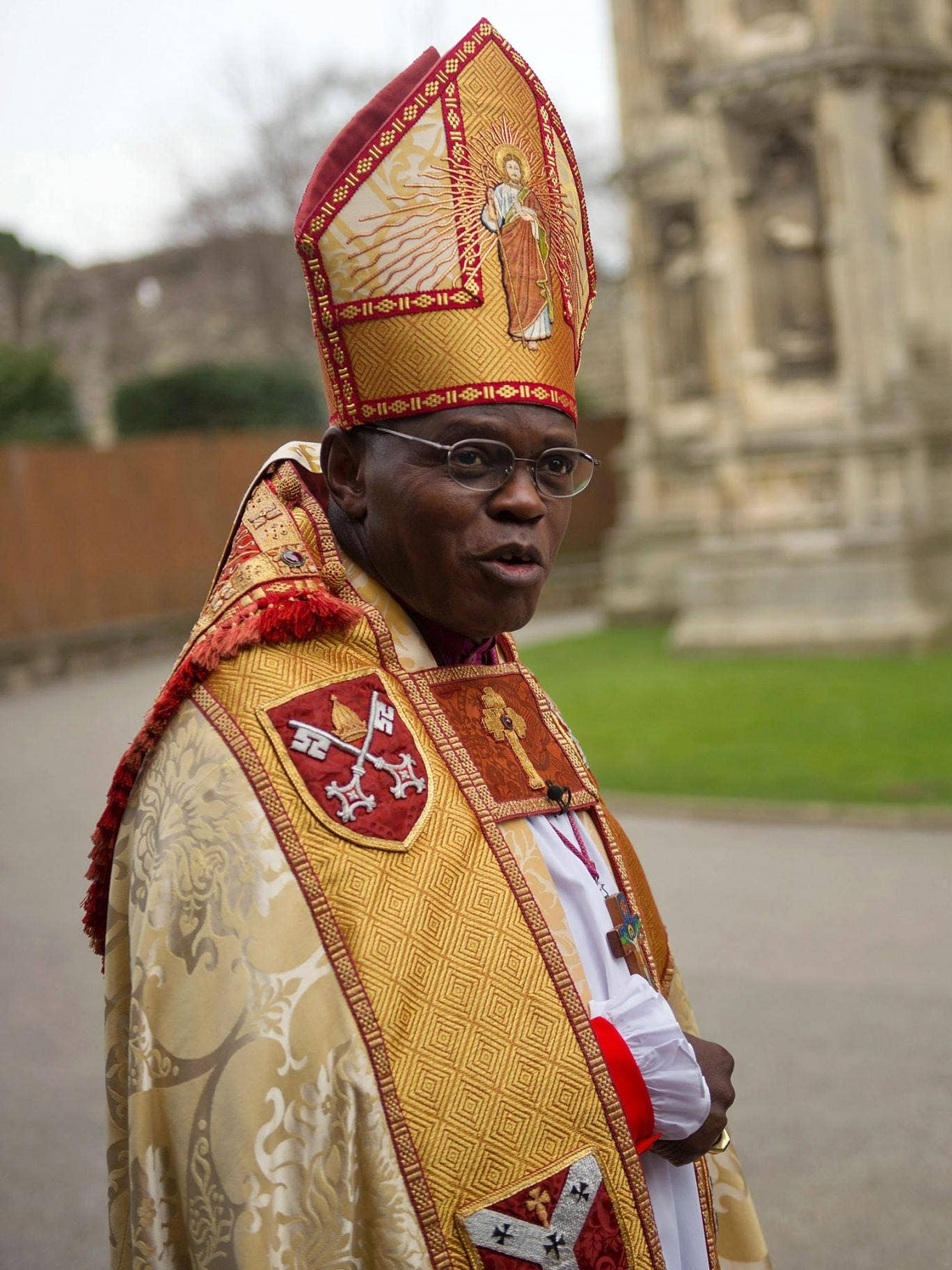 The Archbishop of York John Sentamu has been treated for prostate cancer