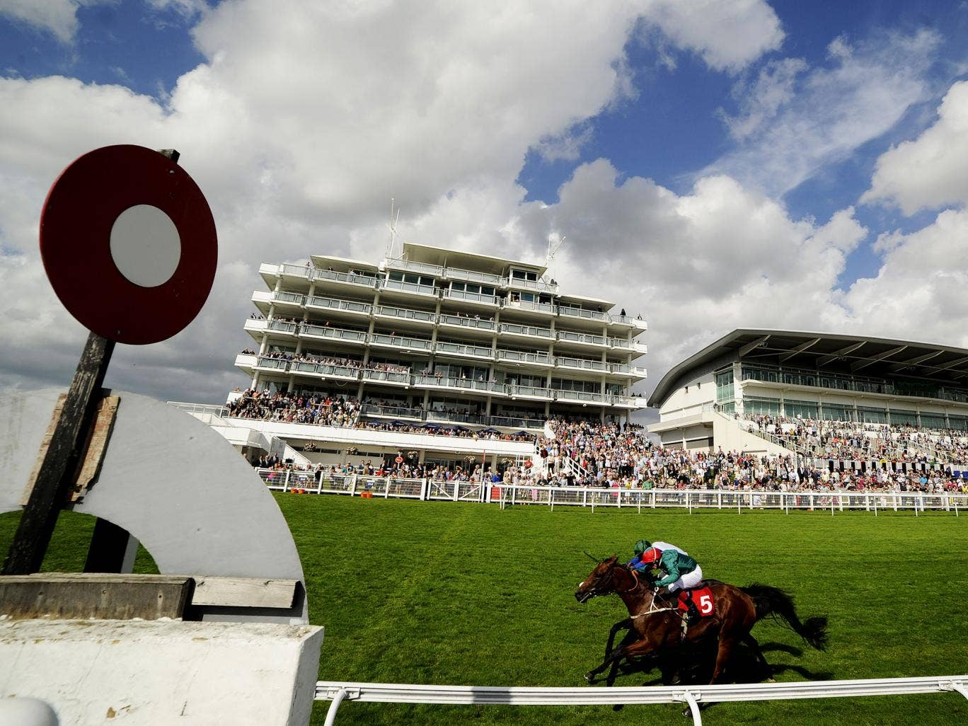 Good weather is expected for this weekend's Epsom Derby