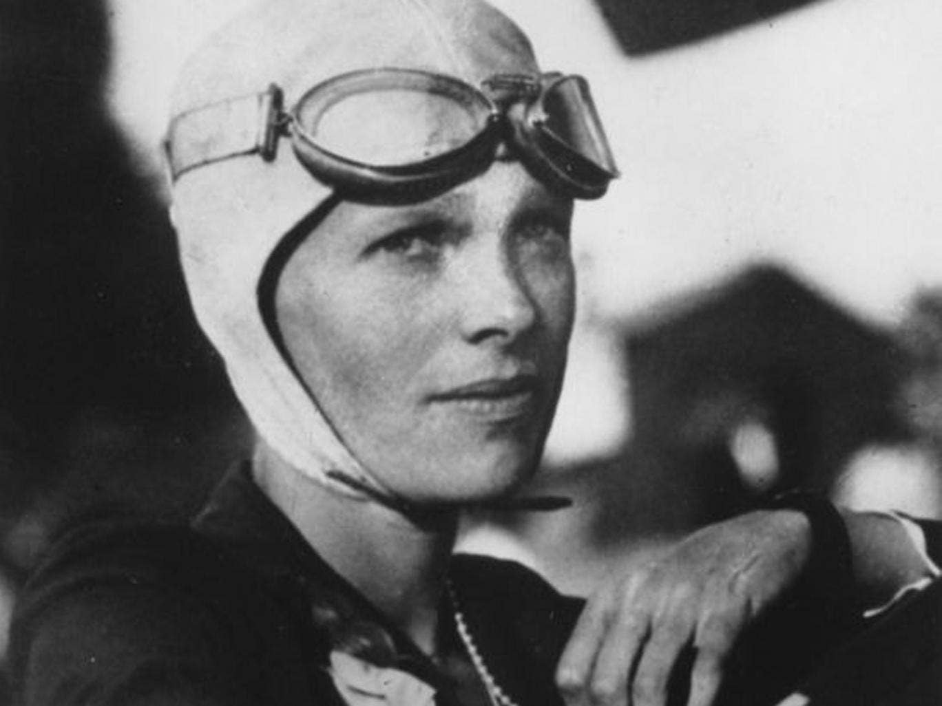 An undated file photo shows Amelia Earhart, the first woman to fly solo across the Atlantic Ocean (AP)