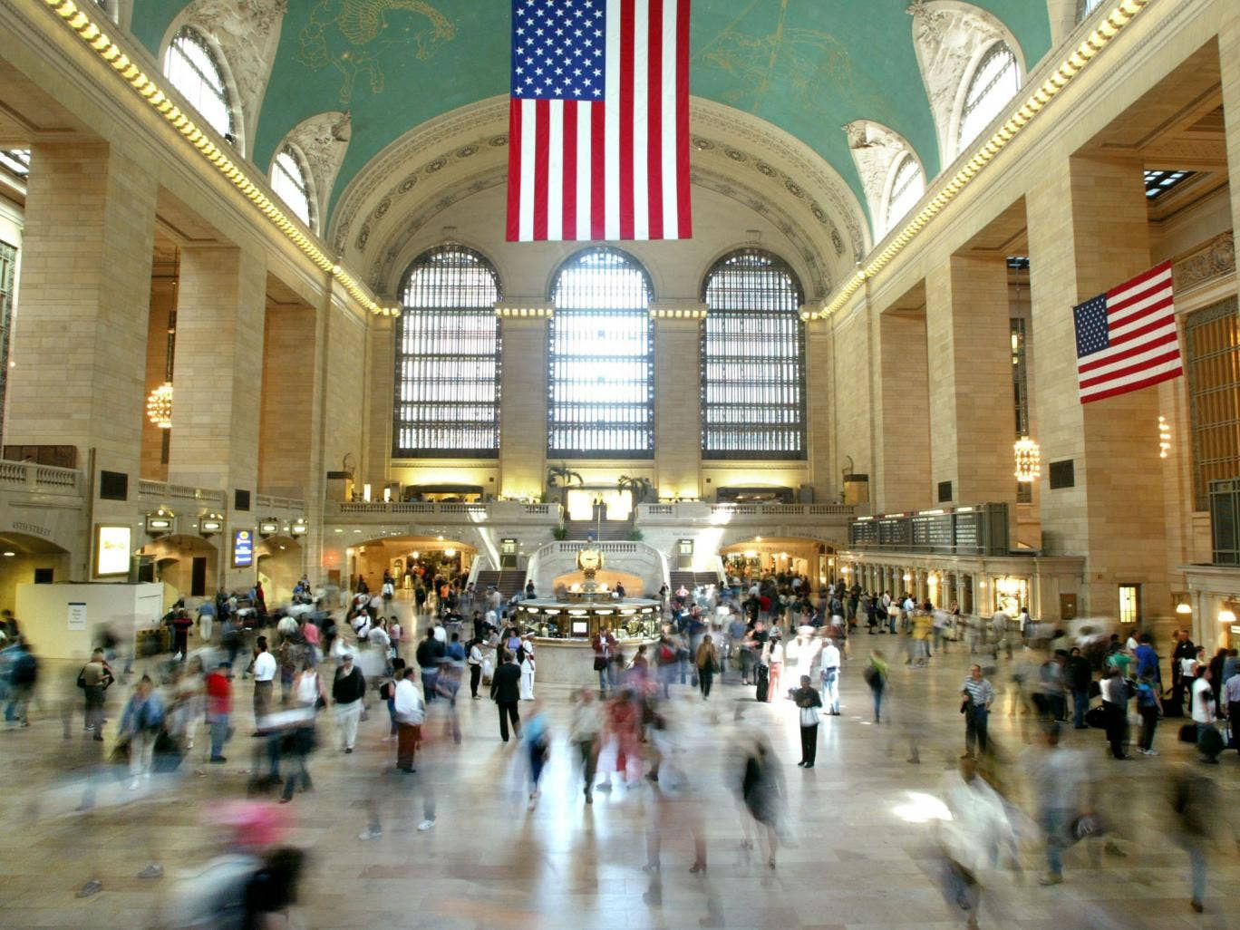New York's Grand Central Station, one of the country's most impressive