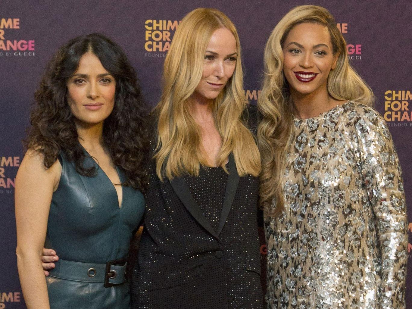 Salma Hayek, Gucci's Frida Giannini and Beyoncé raise millions with a 'feminist Live Aid'