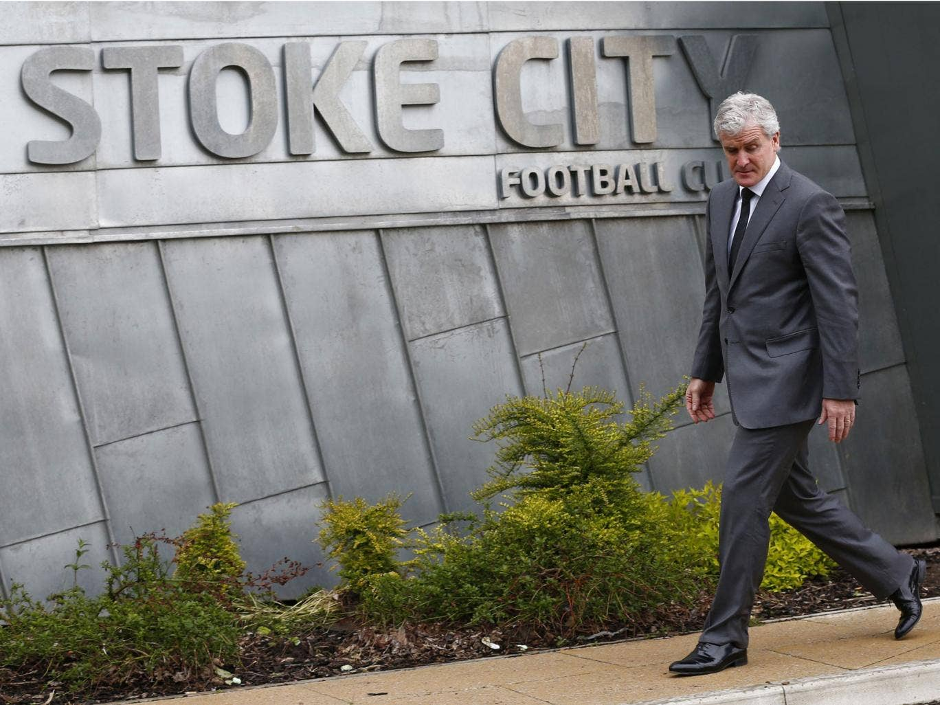Mark Hughes arrives at Stoke to find a club already established by Tony Pulis