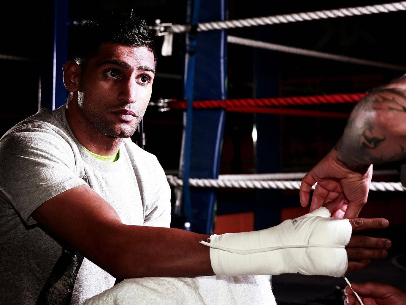 No Khan do: Amir Khan is adamant, stating 'Boxers who take drugs put the lives of others at risk. I am a clean athlete'
