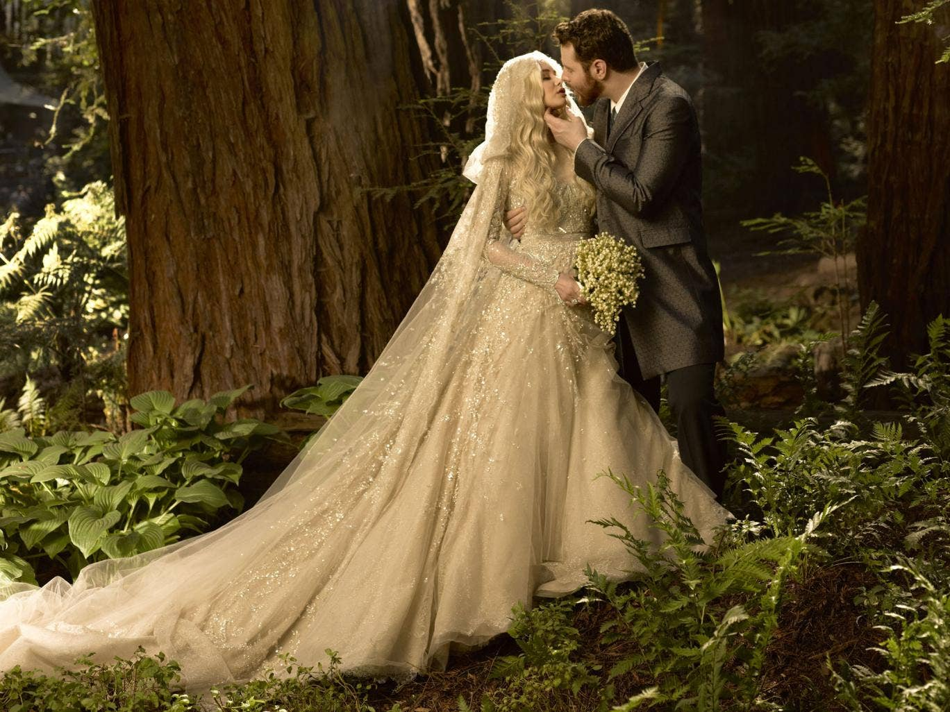 Alexandra and Sean Parker. Photo: Mark Seliger